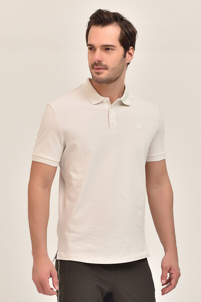 - Bilcee Gri Erkek Büyük Beden Polo Yaka T-Shirt GS-8983