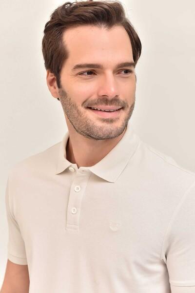 - Bilcee Gri Erkek Büyük Beden Polo Yaka T-Shirt GS-8983 (1)