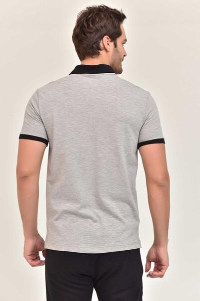 BİLCEE - Bilcee Erkek Büyük Beden Polo Yaka T-Shirt GS-8983 (1)