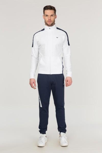 BİLCEE - Bilcee Beyaz Pamuklu Erkek Eşofman Takımı FS-1736