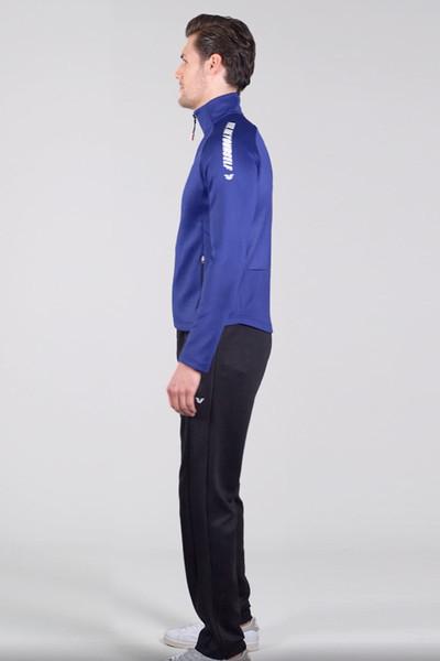 BİLCEE - Bilcee Mavi Dalgıç Erkek Eşofman Takımı FS-1679 (1)