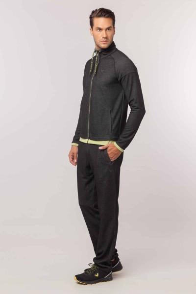 BİLCEE - Bilcee Siyah Erkek Eşofman Takımı EW-3206 (1)