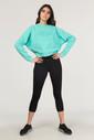 Bilcee 3/4 Kısa Sporcu Kadın Taytı DS-1740 - Thumbnail