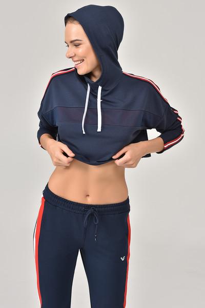 BİLCEE - Bilcee Kadın Sweatshirt FW- 1307