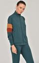 Bilcee K.Yeşil Kadın Eşofman Takımı FW-1446 - Thumbnail