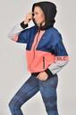 Bilcee Retro Kadın Eşofman Üstü FW-1356 - Thumbnail
