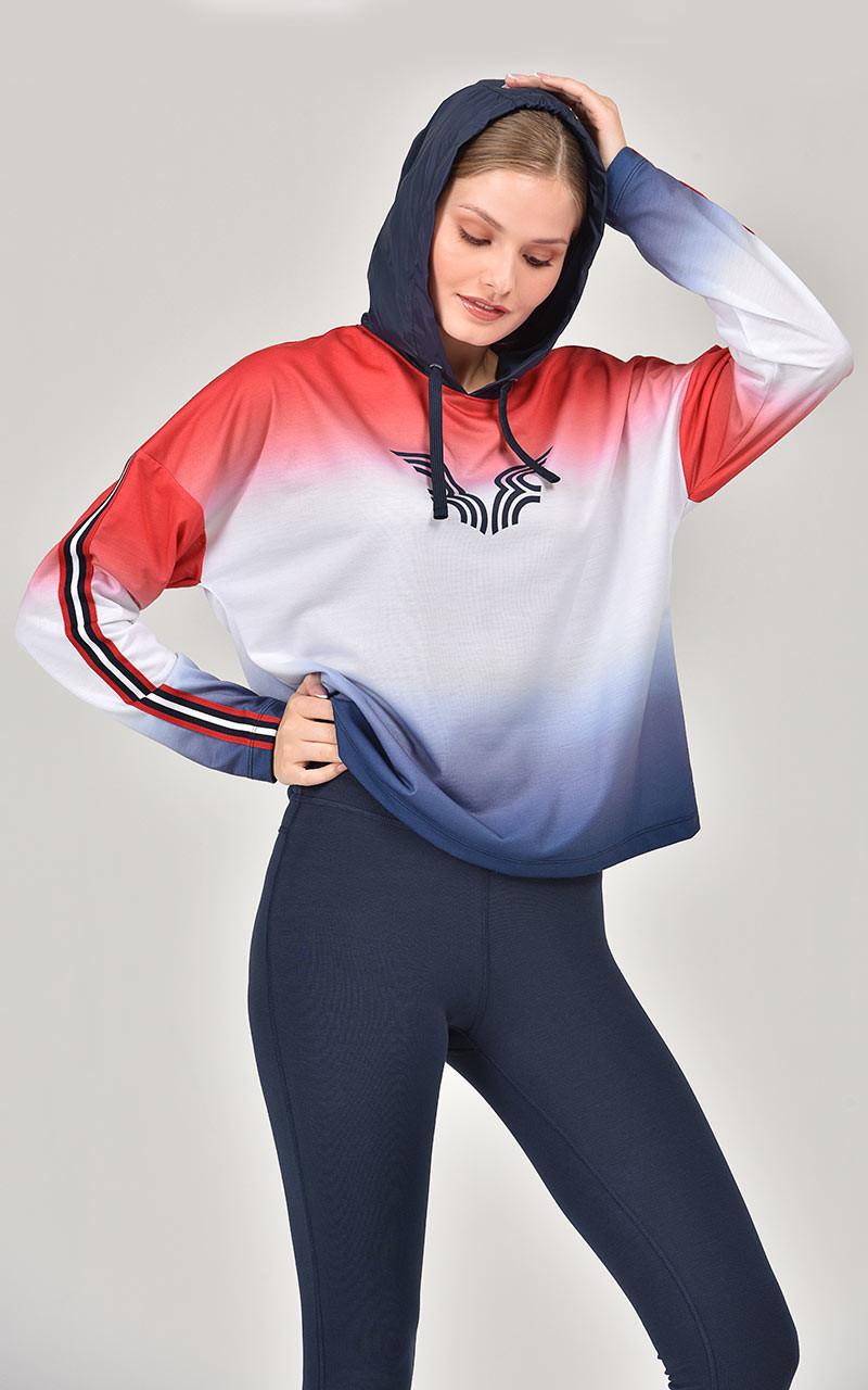 Bilcee Kadın Sweatshirt FW-1310 BİLCEE