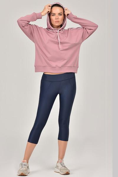 BİLCEE - Bilcee Kapüşonlu Kadın Sweatshirt FW-1499 (1)