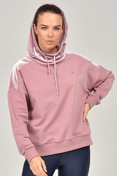 BİLCEE - Bilcee Kapüşonlu Kadın Sweatshirt FW-1499