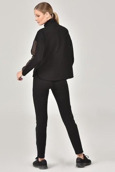 BİLCEE - Bilcee Siyah Kadın Eşofman Takımı FW-1413 (1)