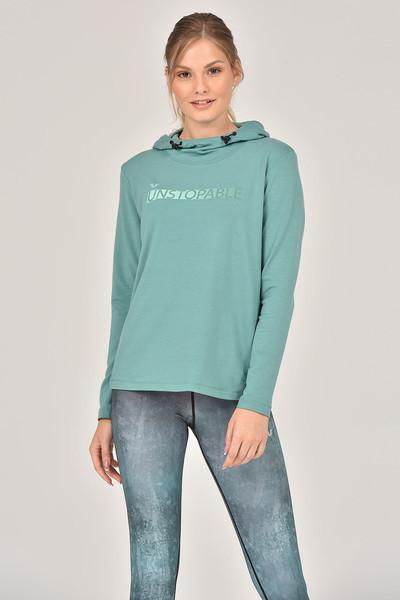 BİLCEE - Bilcee Viskon Kadın Sweatshirt FW- 1339