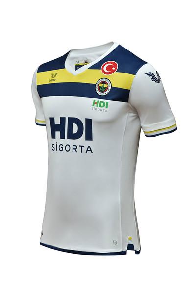 BİLCEE - Fenerbahçe Beyaz Erkek Voleybol Forma FB-0011 (1)