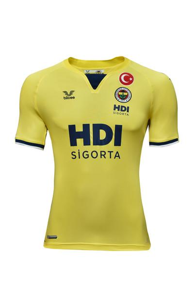 BİLCEE - Fenerbahçe Sarı Erkek Voleybol Forma FB-0010