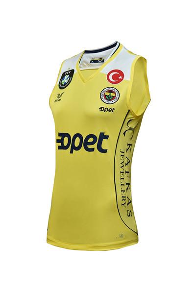 BİLCEE - Fenerbahçe Sarı Kadın Voleybol Forma FB-0018 (1)