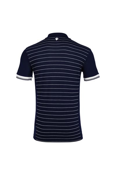 MACRON - Macron Lacivert Polo Yaka T-shirt 90450701 (1)
