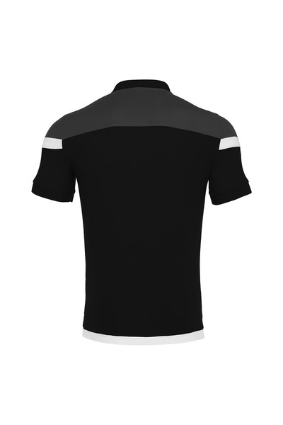 MACRON - Macron Siyah Polo Yaka T-shirt 90560901 (1)