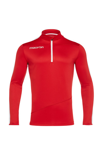 MACRON - Macron Kırmızı Fermuarlı Sweatshirt 51280201