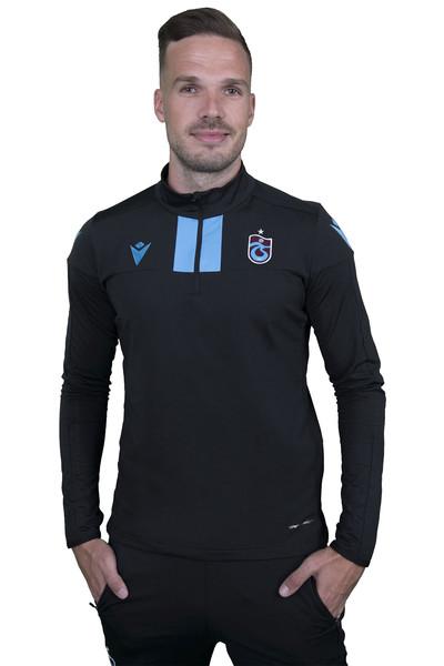 BİLCEE - Trabzonspor Siyah Antrenman Eşofman Takımı TS-6174 (1)