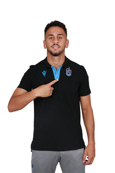 BİLCEE - Trabzonspor Siyah Antrenman Polo T-shirt TS-6178